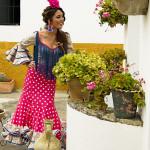 Llega Carmen Jarén… flamenca de camino…
