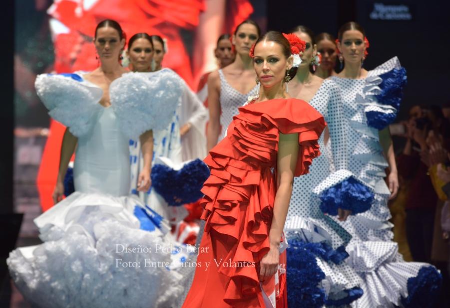 pedro bejar trajes de flamenca simof 2016 17