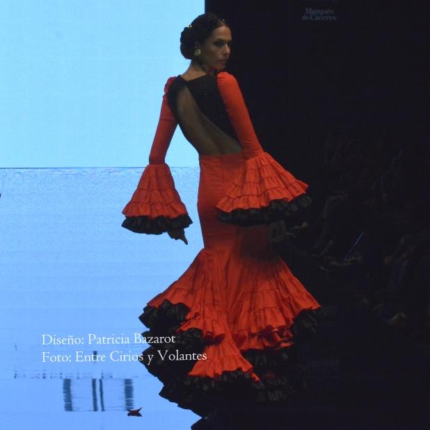 trajes de flamenca rojos patricia bazarot