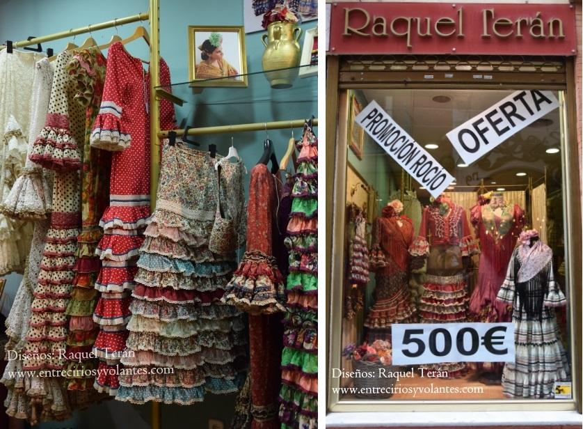 raquel teran trajes de flamenca