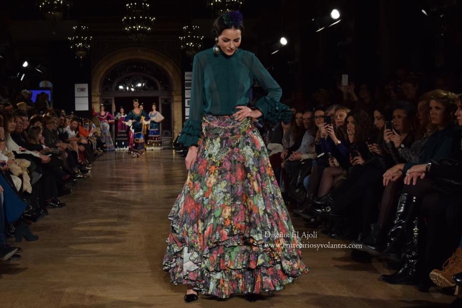 faldas de flamenca con vuelo 2016 el ajoli (1)