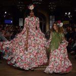 Subiendo el talle, ganando vuelo en el vestido de flamenca.