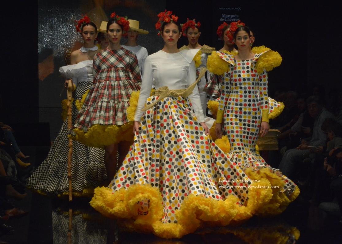 trajes de flamenca de lunares (3)