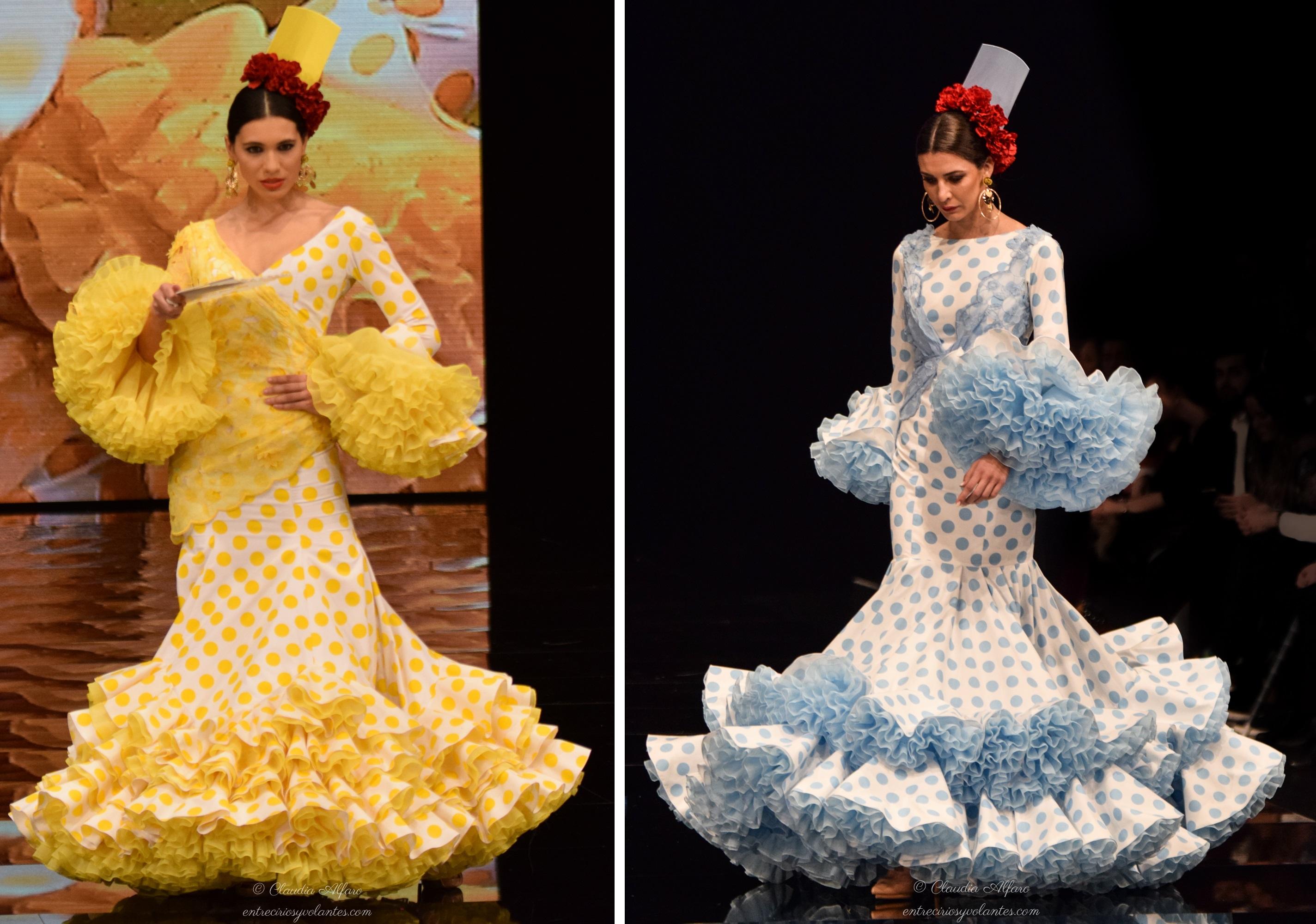 Blanco y rojo de imponente sensusalidad para diseños cortos que nos evocan  a aquella Carmen Sevilla en la película \u0027Camino del Rocío\u0027 entre los que se