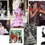 Lina, 60 años vistiendo el flamenco. Desfile 60 Aniversario
